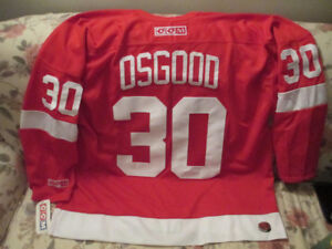 1990's Detroit Red Wings Chris Osgood jersey