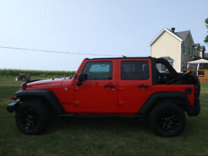 Jeep Wrangler Unlimited willys 2016