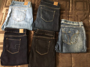 JEANS - American Eagle and Miss Sixty - only 10$ each!! West Island Greater Montréal image 3
