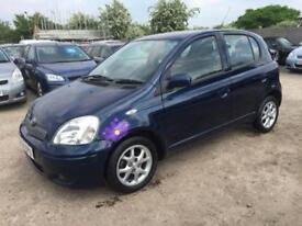 TOYOTA YARIS 2004 1.3 VVT T-SPIRIT PETROL - AUTOMATIC - 1OWNER FROM NEW -SUNROOF