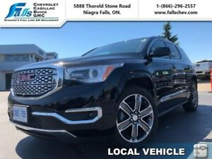 2017 GMC Acadia Denali  NAV,SUNROOF,LEATHER,AWD,HEATED AND COOLE