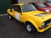 Ford mk2 escort rally car