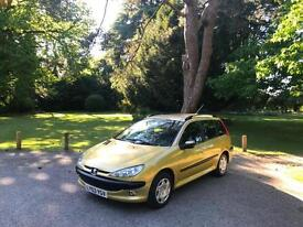 2003 Peugeot 206 SW 1.4 XT 5 Door Estate