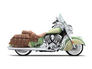 2016 Indian Chief Vintage Willow Green and Ivory Cream