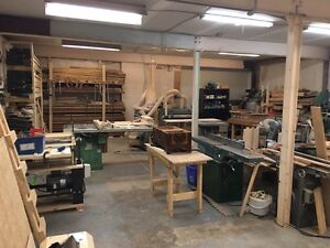 Woodworking business for sale