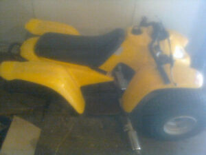 Adly ATV 90cc 2T Copy of Arctic Cat 90 and Bombardier Mini DS 90