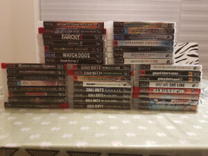 Great PS3 game collection