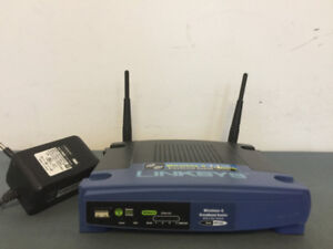 Used Linksys WRT54GL v1.1  wireless route
