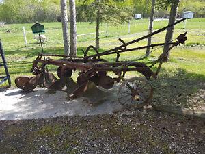 Antique John Deere Plow