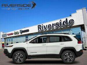 2018 Jeep Cherokee Trailhawk Leather Plus  - Leather Seats - $24