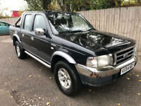 2004 54 Ford Ranger 2.5TDdi XLT Thunder Double Cab 4x4 Pickup may p/x