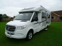 Auto Sleeper Burford Mercedes 2020 4 Berth 2 Seatbelt Rear Washroom French Bed