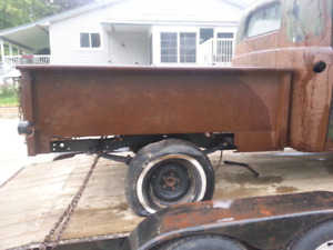 1948 ford 1/2 box and fenders