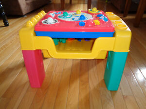 Fisher Price Standing Play Table