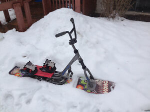 sold ppu - Icycle professional snow slider-Kong model
