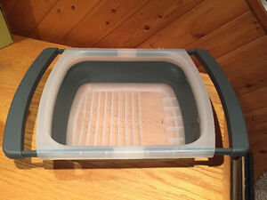 Collapsible Over the Sink Dish Drying Rack