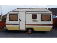 4 Berth Musketeer Sprite Clubman Caravan