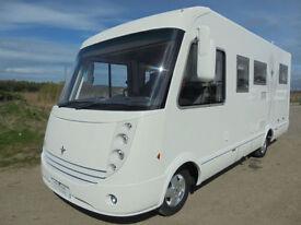 Niesmann Bischoff Arto 64GL A Class Motorhome with rear garage, 4 berth, 4 seats