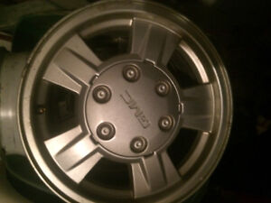 16 in. GMC Canyon OEM rims