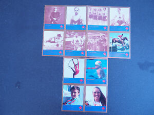 Canadian Gold Medalist Collector Cards