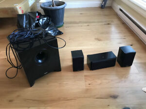Energy Speakers with Subwoofer