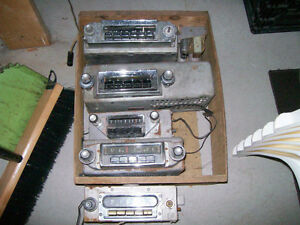 Radio Am de voiture antique Dodge, Ford, Mercury