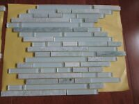 Ming Green Marble/Glass Mosaic