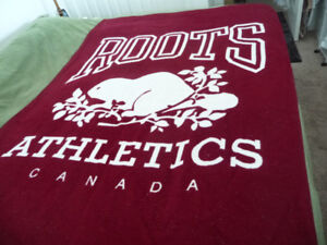 Roots Athletic Canada blanket