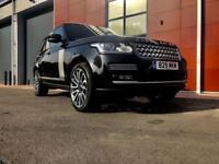 2015 Land Rover Range Rover 3.0 TDV6 Vogue SE 4dr Auto 1 owner 7k factory ext...
