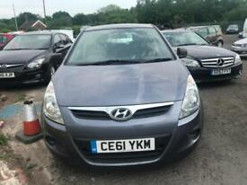 2011 61 Hyundai i20 1.2 2010.5MY Classic Petrol 5 Speed Manual