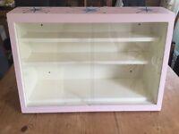 1940s/1950s vintage display cabinet