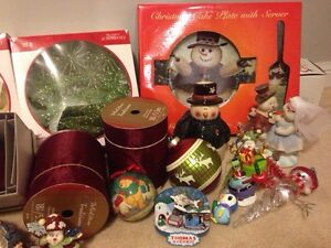 Christmas ornaments- snowman - lot Cambridge Kitchener Area image 4