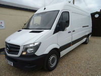 MERCEDES BENZ SPRNNTER 2.1TD 313CDI LWB HIGH ROOF 1 OWNER HPI CLEAR