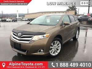 2013 Toyota Venza 4DR WGN   Low km, leather, heated seat, power