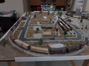 Model Rail Layout - HO Gauge