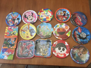 Party Supplies -kids theme tableware