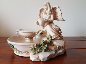 Sarah's Angels Two tier Fountain with original box - used