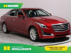 2015 Cadillac CTS LUXURY AWD CUIR TOIT NAV BLUETOOTH CAMERA RECU