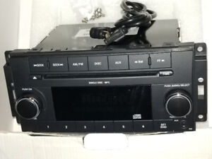 Stock factory CD mp3 player for newer model dodge/chryslers