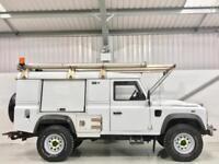 LAND ROVER DEFENDER 110 2.4TDci PUMA HUGE SPEC WINCH 230v PLUGS MOBILE WORKSHOP