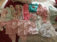 Next baby girls up to 3 months bundle