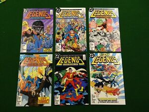 Legends #1-6 comics (1st appearance New Suicide Squad)
