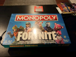 Fortnite Monopoly Brand new sealed
