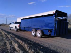 Stock trailer 20'