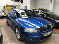 2006 SKODA OCTAVIA 2.0T TFSI VRS 200 BHP PETROL + PART EXCHANGE TO CLEAR