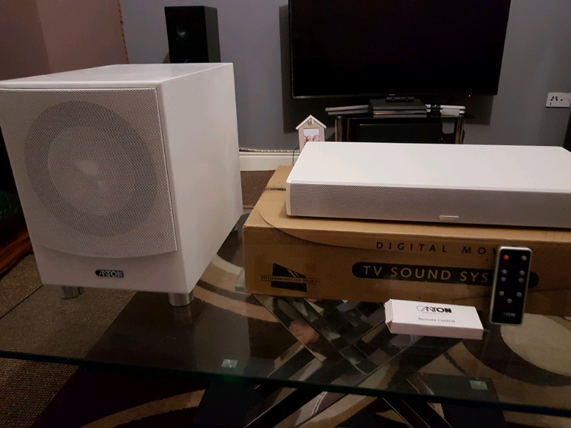 Canton dm 50 plus subwoofer soundbar speakers bluetooth | in Cookstown,  County Tyrone | Gumtree