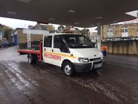 Ford transit car transporter/recovery truck