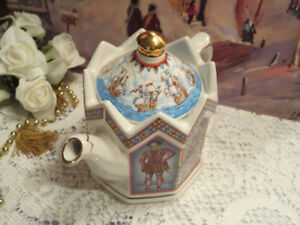 Sadler English Teapot Sir Walter Raleigh and Others