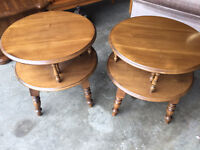 Nice maple table __ both for $99