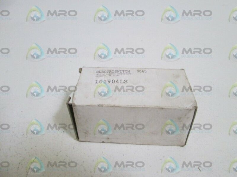 ELECTROSWITCH 101904LS SNAP ACTION ROTARY SWITCH * NEW IN BOX *